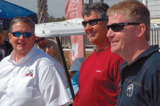 Jeff Burton Visits Jarrett Bay for a Final Thank You